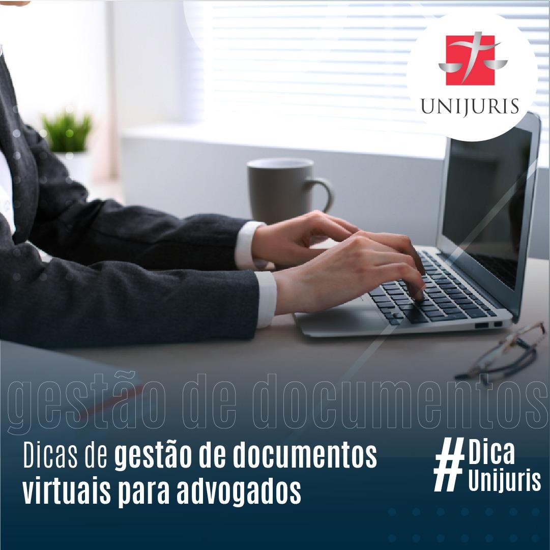 Dicas de gestão de documentos virtuais para advogados
