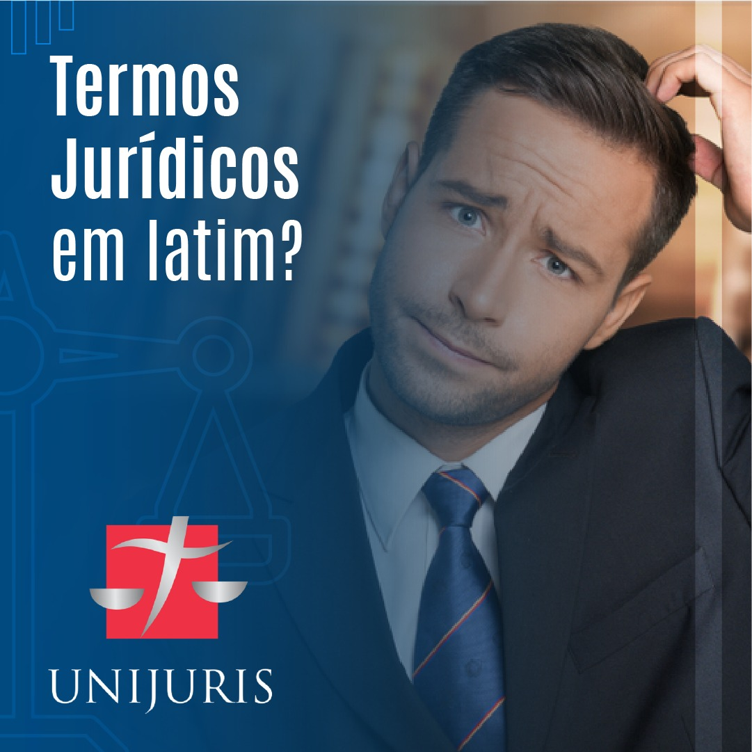 Termos jurídicos em latim?