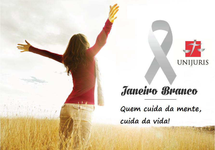 ADERINDO À CAMPANHA JANEIRO BRANCO, A UNIJURIS FIRMOU TERMO DE PARCERIA COM A PSICÓLOGA ANA MARIA COELHO
